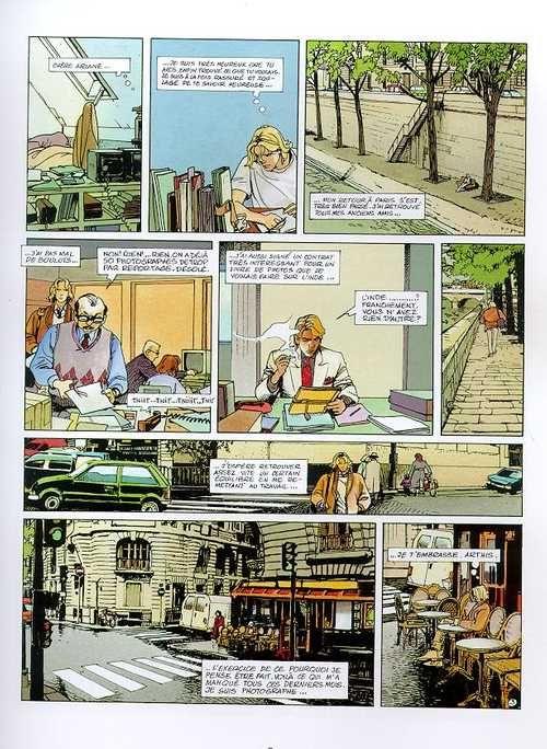 Balade au bout du monde – cycle 3, T9 : Les Véritables (0), bd chez Glénat de Makyo, Faure