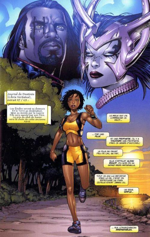 X-Men T1 : La fin (1) (0), comics chez Panini Comics de Claremont, Chen, Hannin, Land