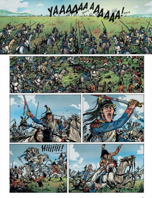 La Bataille T2, bd chez Dupuis de Rambaud, Richaud, Gil, Ralenti