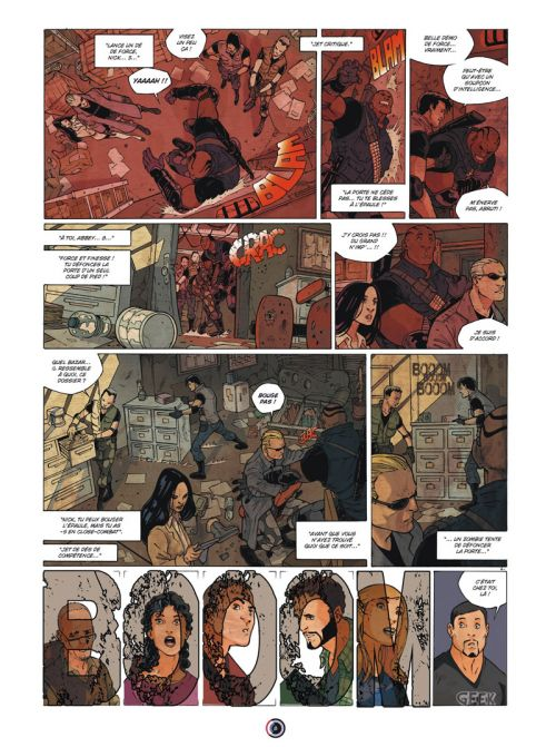 Geek Agency T1 : Resident Geek (0), bd chez Ankama de Briones, Huet