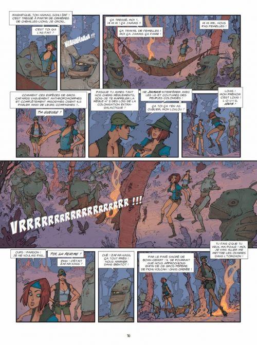 Piège sur Zarkass T1 : Une chenille pour deux (0), bd chez Ankama de Yann, Cassegrain, Parel