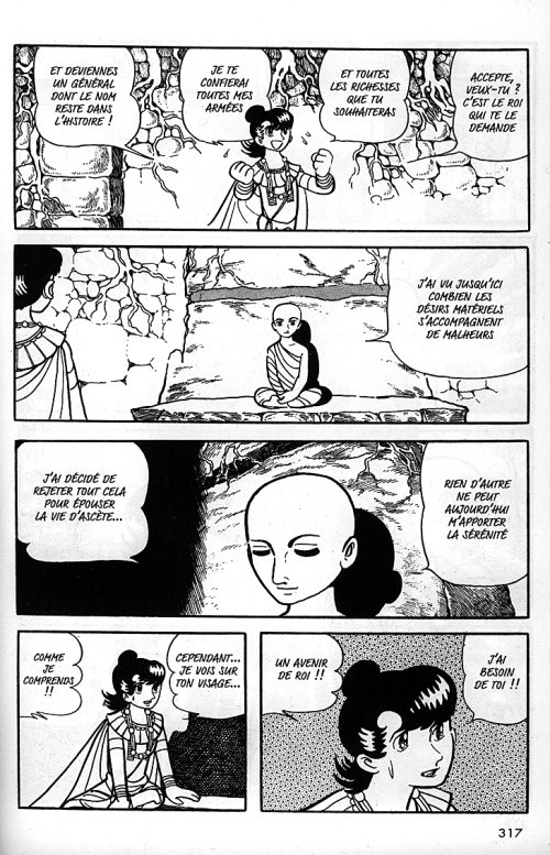 La vie de Bouddha – Edition simple, T3 : Dévadatta (0), manga chez Tonkam de Tezuka