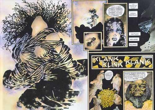 300, comics chez Rackham de Miller, Varley
