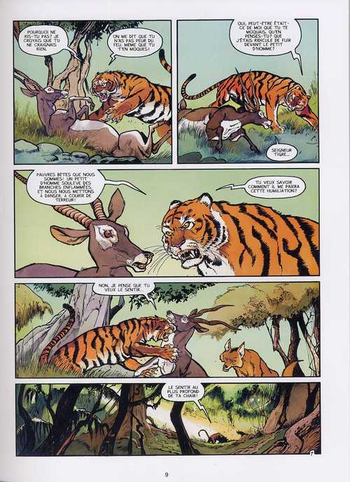 Le dernier livre de la jungle T2 : La promesse (0), bd chez Le Lombard de Desberg, Reculé, de Moor