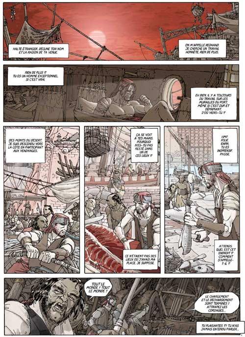 Redhand T2 : L'arme des dieux (0), bd chez Les Humanoïdes Associés de Busiek, Alberti