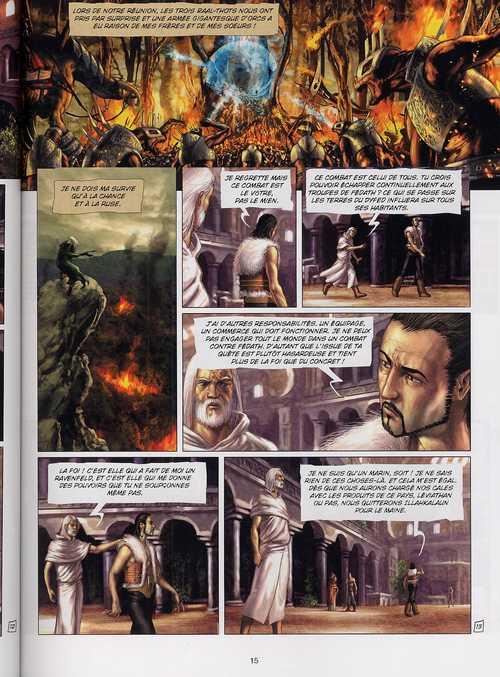 Le seigneur d'ombre T3 : Les gardes pourpres (0), bd chez Soleil de Istin, Dim D.