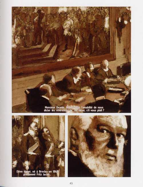 Fritz Haber T1 : L'esprit du temps (0), bd chez Delcourt de Vandermeulen