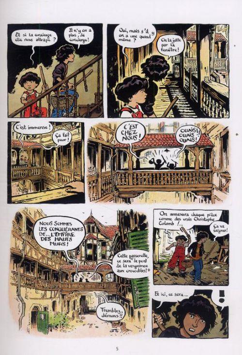 L'empire des hauts murs, bd chez La boîte à bulles de Hureau, Reutimann