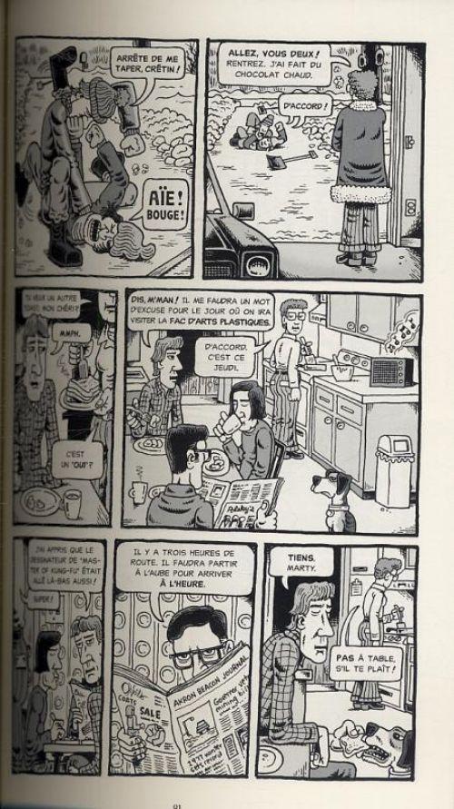 Mon ami Dahmer, comics chez Çà et là de Backderf
