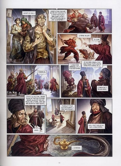 3 souhaits T3 : La tombe de Salomon (0), bd chez Drugstore de Gabella, Martinello