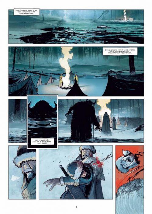 L'Ombre blanche T1 : La Traque du sans-nom (0), bd chez Soleil de Ozanam, Carrion