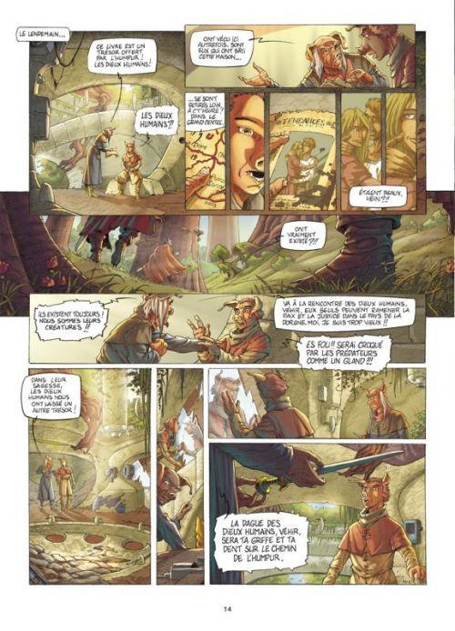 Fables de l'Humpur T1 : Les clans de la Dorgne (0), bd chez Soleil de Bordage, Roman, Vincent
