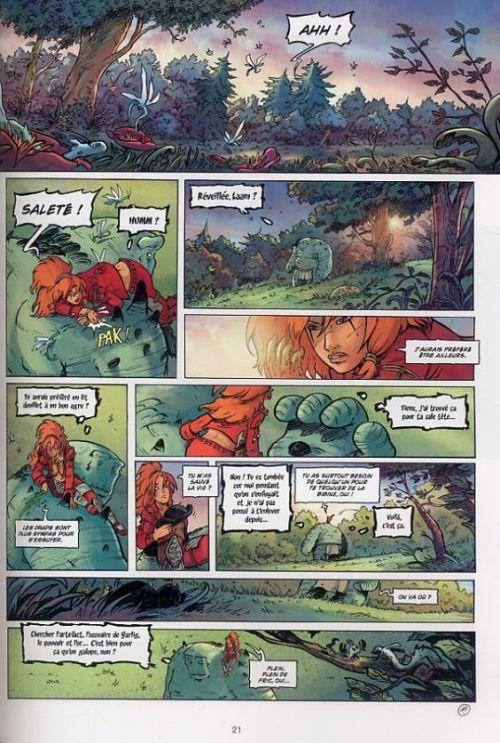 Les terres de Sienn T3 : La vie des morts (0), bd chez Soleil de Pona, Gomes, Stambecco
