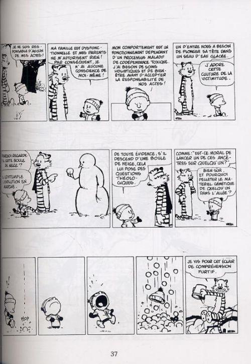Calvin et Hobbes – Petit format, T18, comics chez Hors Collection de Watterson
