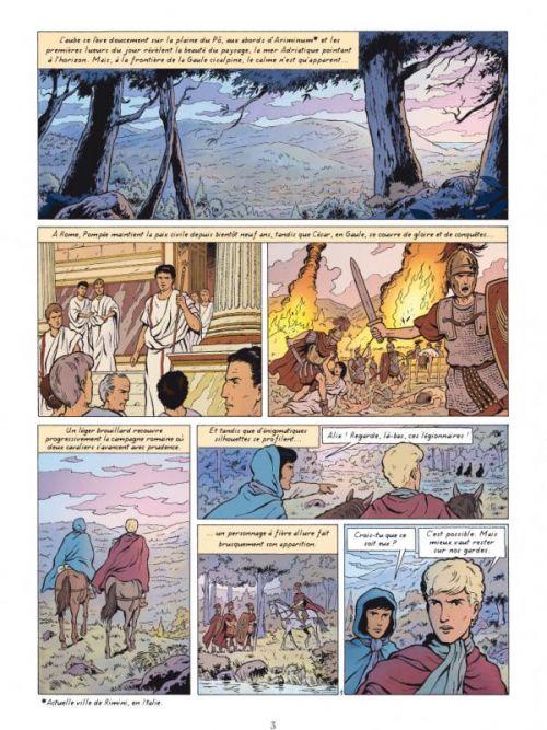 Alix T32 : La dernière conquête (0), bd chez Casterman de Ranouil, Jailloux, Billon