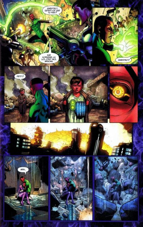 Green Lantern Saga T9, comics chez Urban Comics de Johns, Tomasi, Milligan, Bedard, Kirkham, Pasarin, Mahnke, Giorello, Ruffino, Sinclair, Eltaeb, Eyring