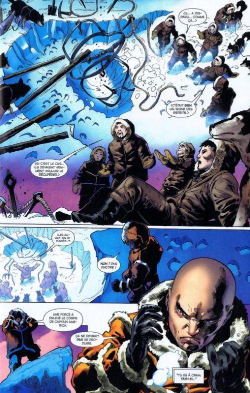 Marvel Saga – V 1, T17 : Le Corps des Captain America (0), comics chez Panini Comics de Stern, Briones, Milla, Jimenez