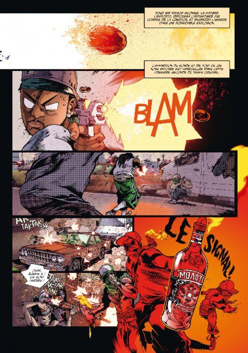Mutafukaz T4 : De4d End (0), comics chez Ankama de Run