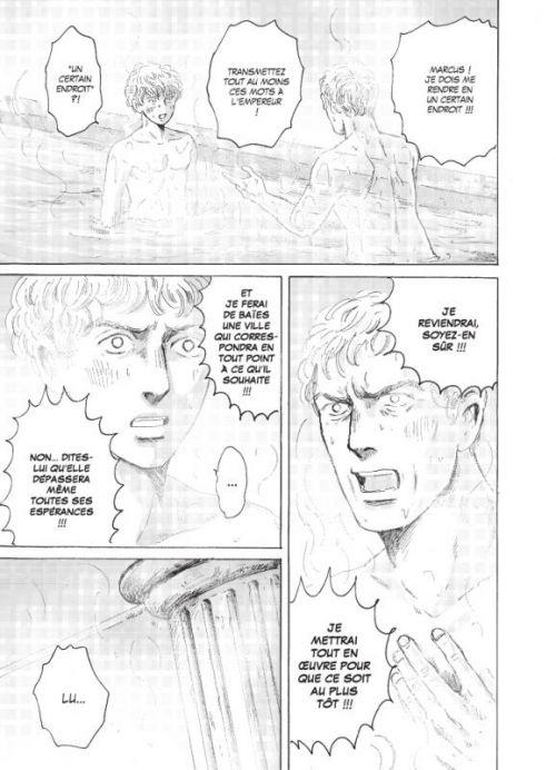 Thermae Romae T5, manga chez Casterman de Yamazaki