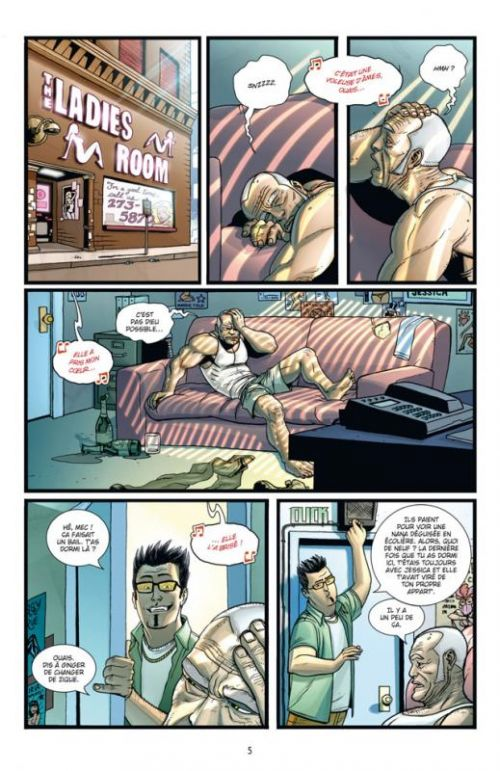 Brit T3 : Gueule cassée (0), comics chez Delcourt de Kirkman, Brown, Bellegarde, Kuhn, Staples, FCO Plascencia, Tripp, Ottley