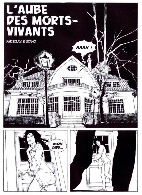 Dylan Dog – 100% Fusion Comics, T1 : L'aube des morts-vivants (0), comics chez Panini Comics de Sclavi, Trigo, Stano