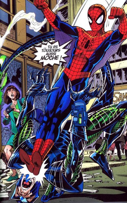 Spider-Man - Best comics T5 : Le pouvoir... sans les reponsabilités (0), comics chez Panini Comics de Byrne, Mackie, Kayanan, Romita Jr, Smith, Bernardo, Kalisz, Wright