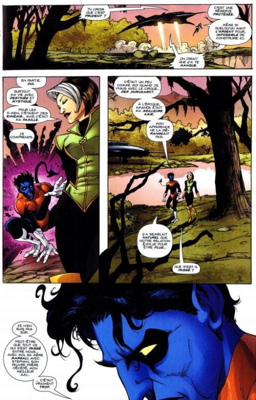 X-Men (revue) – Extra, T94 : Changement en profondeur (0), comics chez Panini Comics de Claremont, Nolan, SotoColor, Grummet