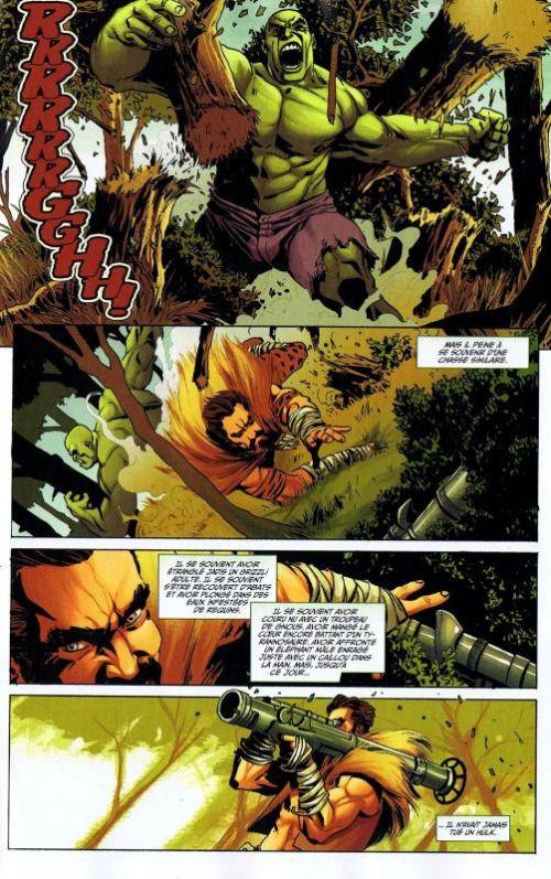 Hulk – Revue V 2, T9 : Dans le vide (0), comics chez Panini Comics de Remender, Parker, Aaron, Eaglesham, Scalera, Talajic, Staples, Wilson, Charalampidis, Arbuto, Martin jr, Adams