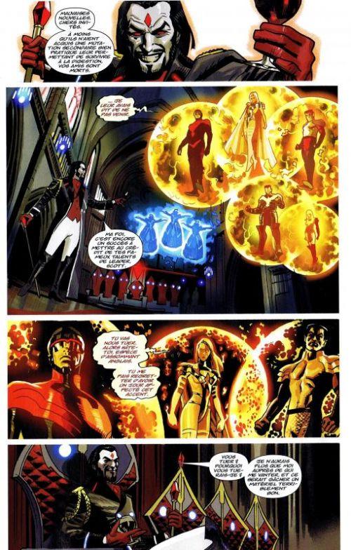 X-Men (revue) – V 3, T9 : Les enfants des broods (0), comics chez Panini Comics de Gillen, Lanning, Abnett, Gage, Acuña, Sandoval, Ruiz, Bobillo, Del Mundo, Sotomayor, Rosenberg, Aburtov, Staples, Olmos, Larroca
