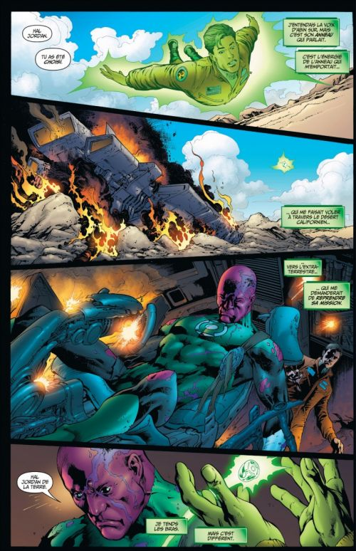 Geoff Johns présente – Green Lantern, T3 : Hal Jordan, mort ou vif  (0), comics chez Urban Comics de Johns, Reis, Acuña, Baumann