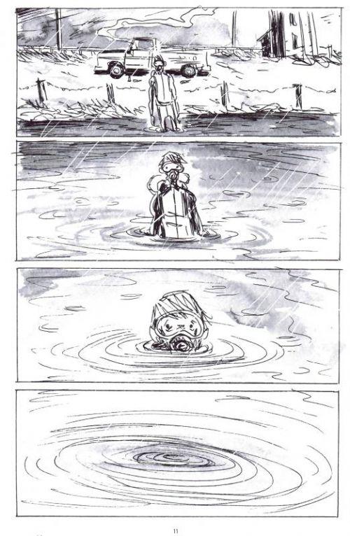 Jack Joseph, soudeur sous-marin, comics chez Futuropolis de Lemire