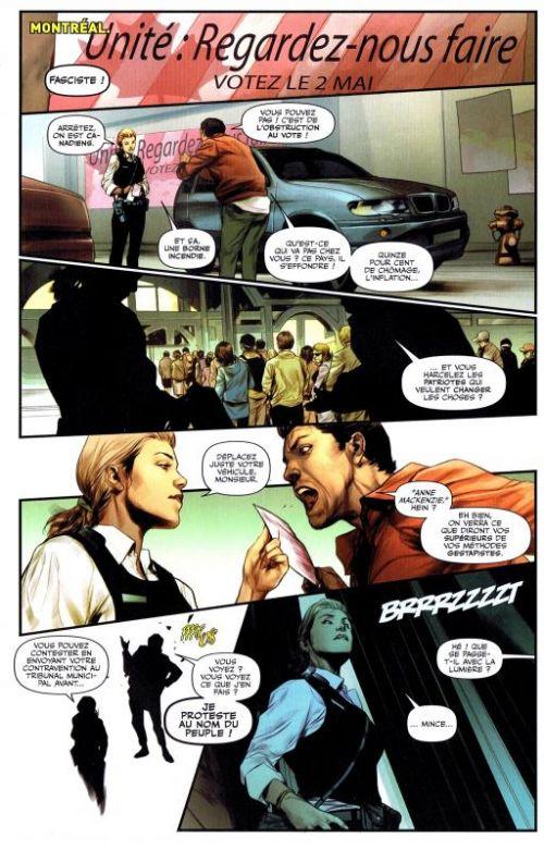 Alpha Flight T1 : L'union fait la force (0), comics chez Panini Comics de Van Lente, Gillen, Pak, Eaglesham, Sanders, McKelvie, Oliver, Oback, Martin jr, Arbuto, Wilson