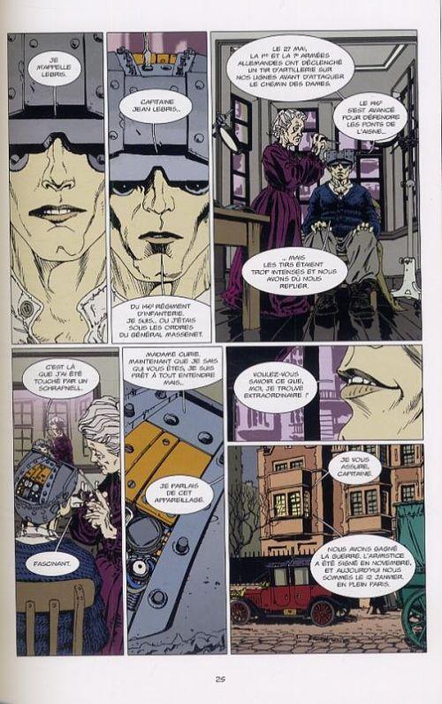 L'homme truqué, comics chez L'Atalante de Serge Lehman, Gess