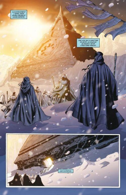 Star Wars - La genèse des Jedi T1 : L'éveil de la Force (0), comics chez Delcourt de Ostrander, Duursema, Dzioba