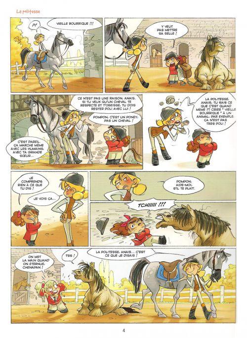 Camomille et les chevaux T3 : Poney game (0), bd chez Hugo BD de Mésange, Turconi, Lenoble