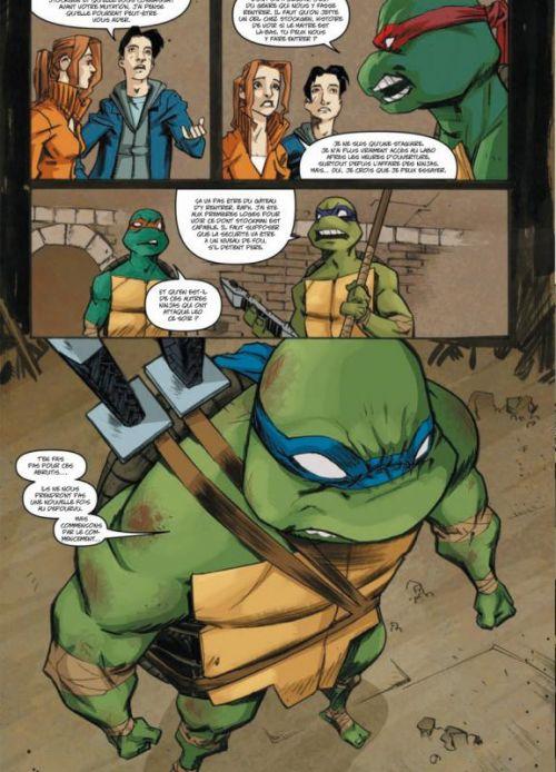Les Tortues Ninja T3 : Les ombres du passé (0), comics chez Soleil de Waltz, Eastman, Duncan, Nicolle