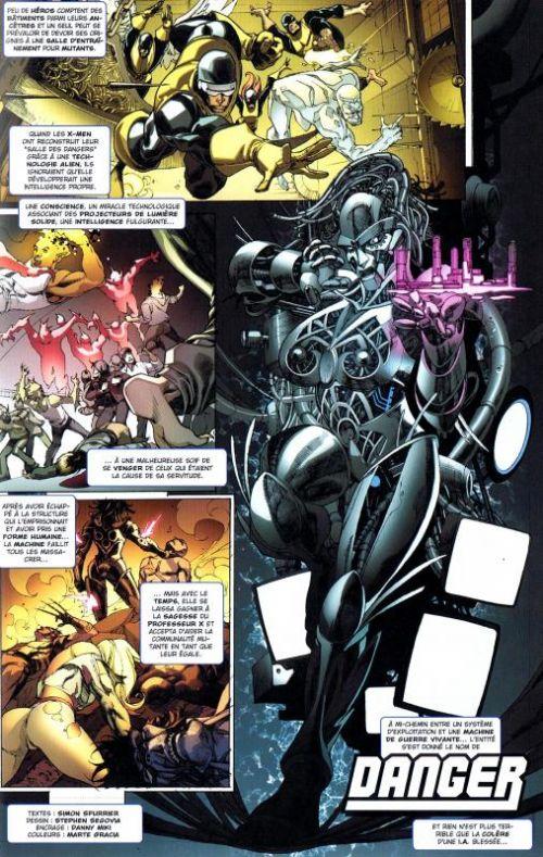 X-Men : Club-X (0), comics chez Panini Comics de Spurrier, Noto, Segovia, Davidson, Rosenberg, Gracia, Esquejo