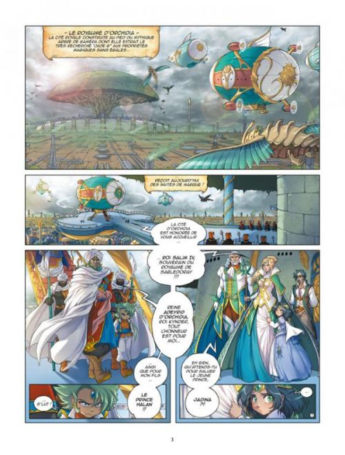 Les Légendaires - Origines T2 : Jadina (0), bd chez Delcourt de Sobral, Nadou