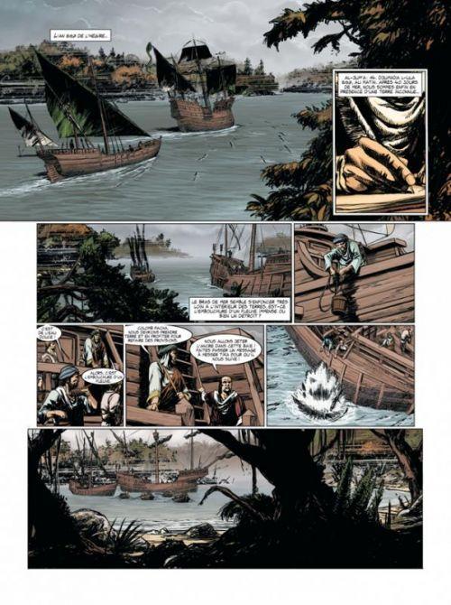 Jour J T13 : Colomb pacha (0), bd chez Delcourt de Pécau, Blanchard, Duval, Emem, Calvez, Manchu