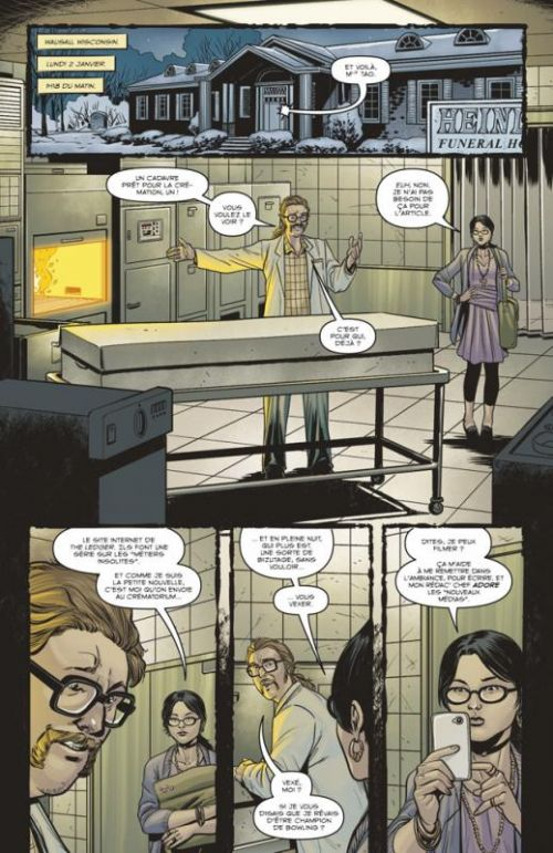 Revival T1 : Bienvenue à la maison ! (0), comics chez Delcourt de Seeley, Norton, Englert, Frison