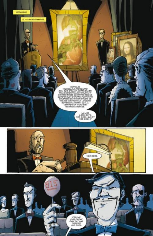 Tony Chu, détective cannibale T6 : Space cakes (0), comics chez Delcourt de Layman, Guillory