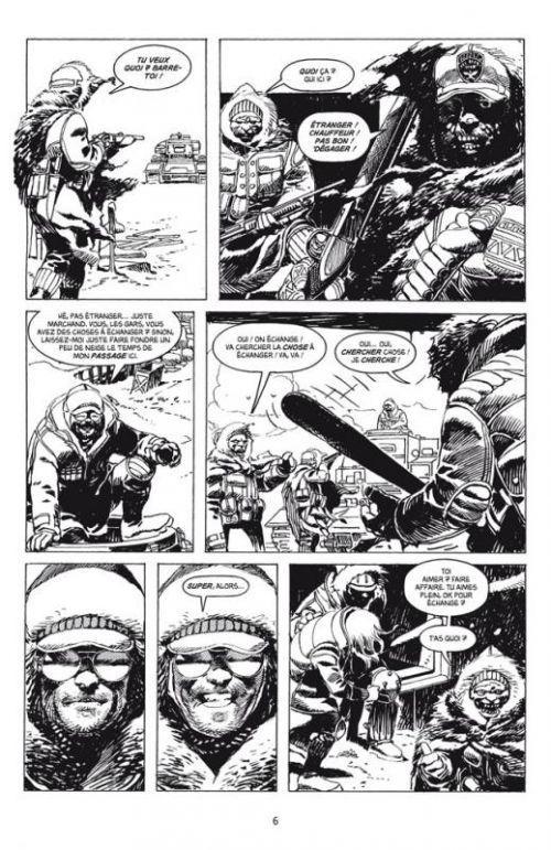 Winter World, comics chez Delcourt de Dixon, Zaffino