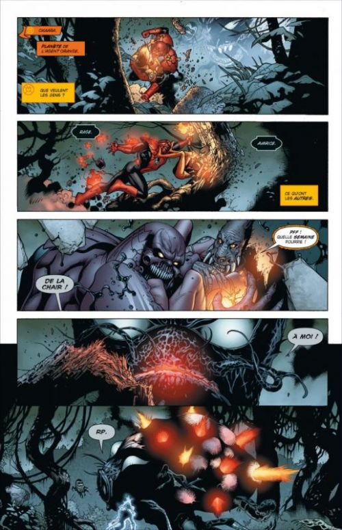 Blackest Night T2 : L'armée des ténèbres (0), comics chez Urban Comics de Johns, Marz, Reis, Ordway, Mahnke, Pasarin, Sook, Benes, Eltaeb, Mayor, Strachan, Sinclair, Miller, Migliari