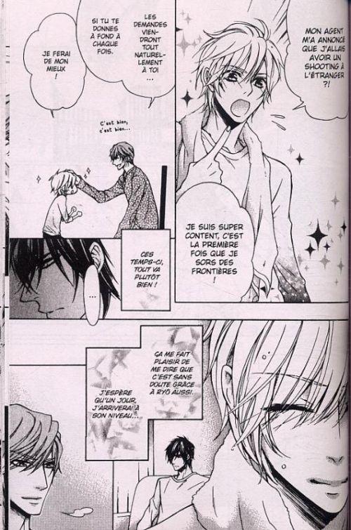 In his eyes, manga chez Asuka de Narusaka