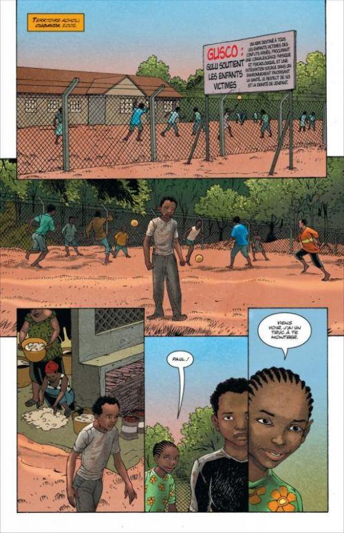 Soldat inconnu T3 : Saison sèche (0), comics chez Urban Comics de Dysart, Ponticelli, Masioni, Celestini, Villarubia, Corben