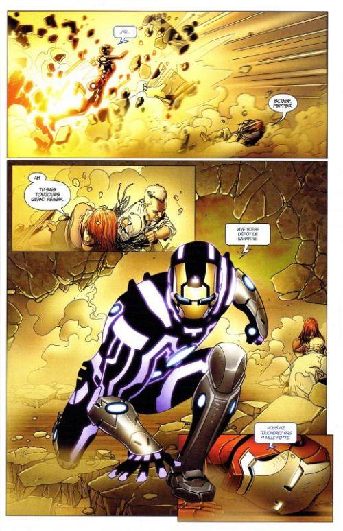 Iron Man (revue) – V 1, T10 : Le dieu vaisseau (0), comics chez Panini Comics de Hickman, Fraction, Bendis, Larroca, Stegman, Dragotta, Deodato Jr, Peter, d' Armata, Beredo, Mounts