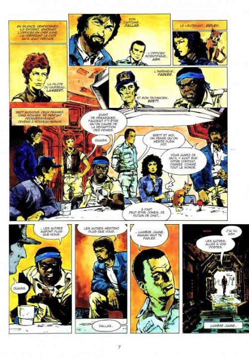 Alien - Le huitième passager, comics chez Soleil de Goodwin, Simonson, Law, Pedlar, Lerose, Simonson