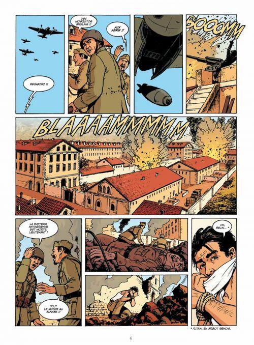 WW2.2 T5 : Une odyssée sicilienne (0), bd chez Dargaud de Blengino, Del Vecchio