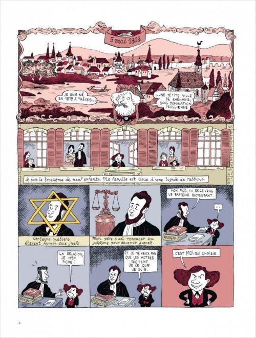 Marx, bd chez Dargaud de Maier, Simon