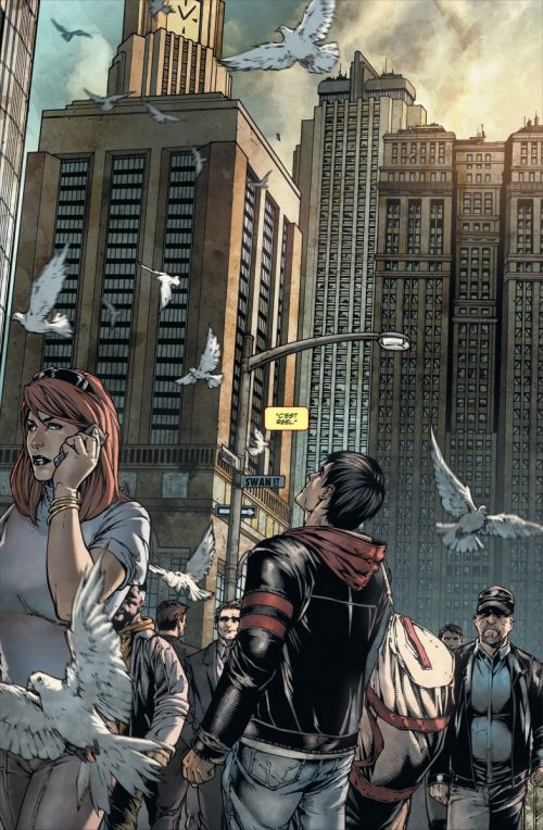 Superman - Terre un T1, comics chez Urban Comics de Straczynski, Davis, Ciardo